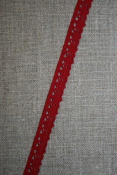 Smal blonde 11 mm. mørk rød