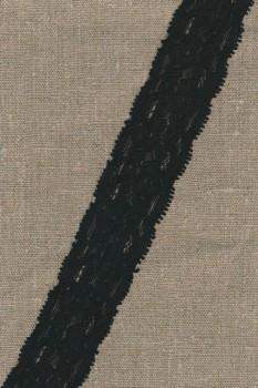 Strækblonde 40 mm. sort