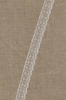 Nylonblonde hvid 20 mm.
