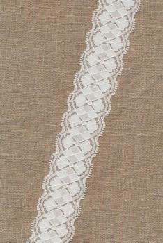 Strækblonde 40 mm. hvid