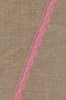 Bomulds-blonde 12 mm. i gammel rosa