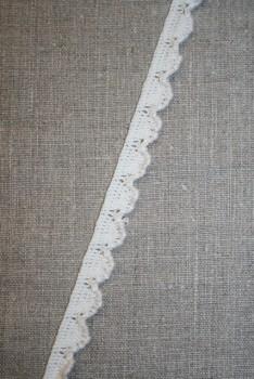 Kantelastik i bomuld off-white - kit