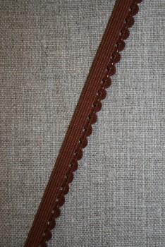 Kantelastik rød-brun