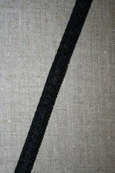 Rest Stropelastik 12 mm. sort, 94 cm.