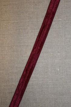 3 meter Foldeelastik smal vinrød
