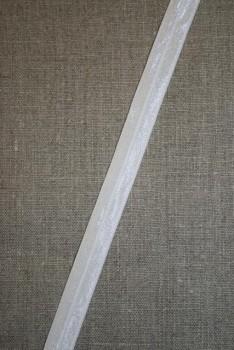 Foldeelastik knækket hvid