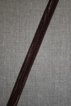 Foldeelastik chokolade brun