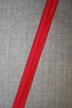 Foldeelastik smal rød