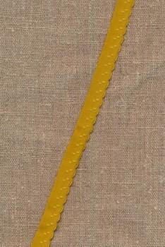 Foldeelastik med buet kant og prik, carry