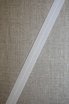 Foldeelastik tynd, hvid