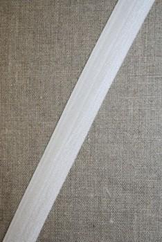 Foldeelastik hvid