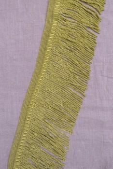 Møbelfrynser 12 cm. i lys okker-gul