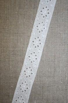 Feston hvid 25 mm mellemværk