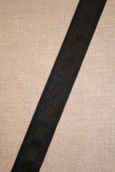 Rest Rynkebånd sort, 178 cm.