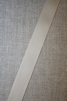 Bomuldsbånd/Gjordbånd sand, 20 mm.