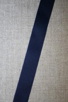 Bomuldsbånd/Gjordbånd marine, 20 mm.
