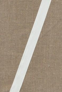 Bomuldsbånd/Gjordbånd hvid, 20 mm.