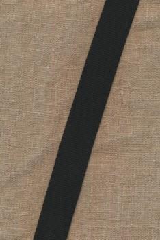 Kraftig gjordbånd 30 mm. sort