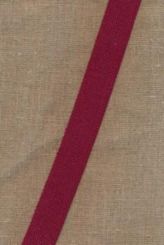 Kraftig gjordbånd 30 mm. støvet mørk rød