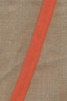Rest Kraftig gjordbånd 30 mm. støvet orange, 57 cm.