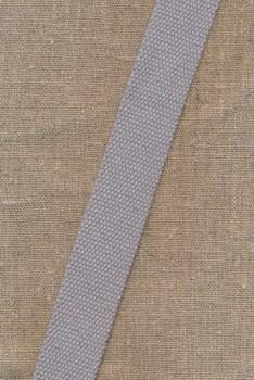 Kraftig gjordbånd 30 mm. lysegrå