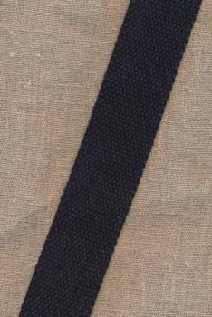 Kraftig gjordbånd 40 mm. sort