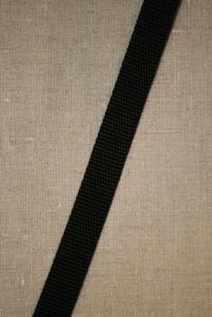 Nylon gjordbånd 20 mm. sort