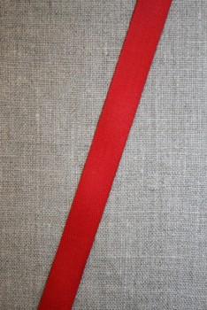 Bomuldsbånd/Gjordbånd rød 15 mm.