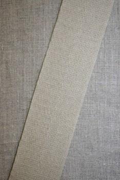 Hørgjord-bånd 50 mm. natur