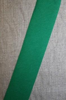 Kantbånd skråbånd i jersey, græsgrøn