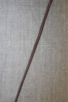 Ruskind snøre 3 mm. brun