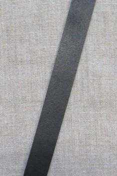 Læderrem i sort 2 cm. x 115 cm.