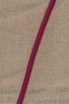Paspoil-/piping bånd i bomuld, vinrød