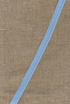 Paspoil-/piping bånd i bomuld, babylyseblå