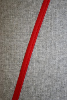 Paspoil bånd i bomuld, rød