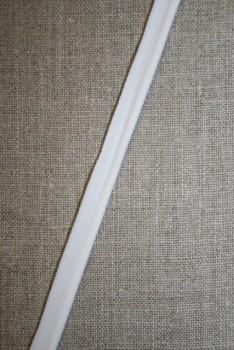 Elastisk Paspoil/piping-bånd hvid
