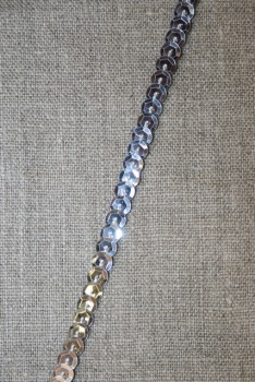 Rest Pallietbånd sølv- 55 cm.