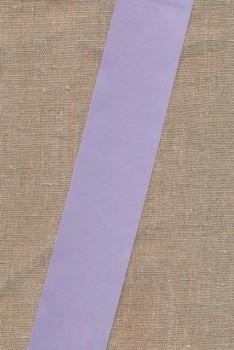 Satinbånd sart lyselilla 50 mm