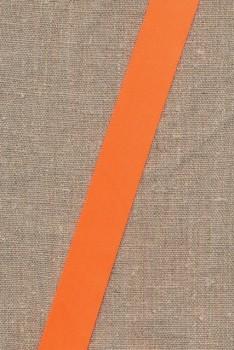 Satinbånd neon orange 25 mm