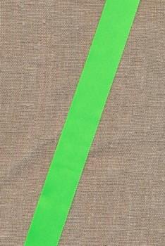 Satinbånd neon grøn 25 mm