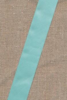 Satinbånd lys mint-grøn 35 mm
