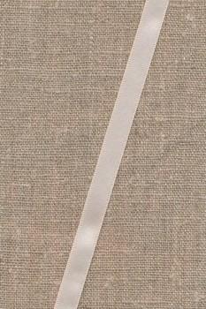 Satinbånd i creme 10 mm
