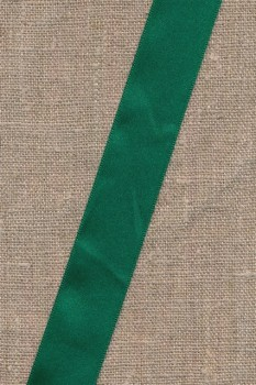 Satinbånd mørk grøn 25 mm