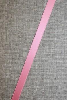 Satinbånd lyserød 10 mm.