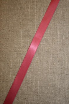 Satinbånd mørk rosa 15 mm.