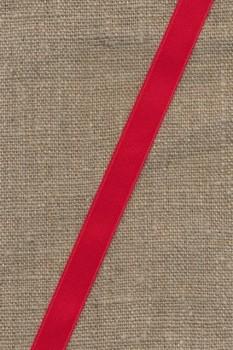 Satinbånd rød 10 mm.