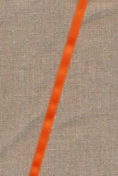 Satinbånd orange 10 mm