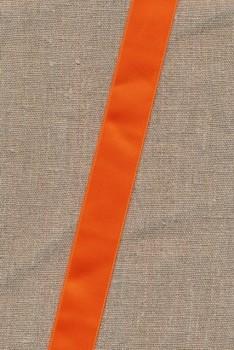 Satinbånd orange 25 mm