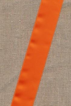 Satinbånd orange 40 mm