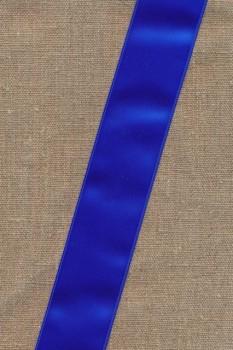 Satinbånd koboltblå 40 mm.